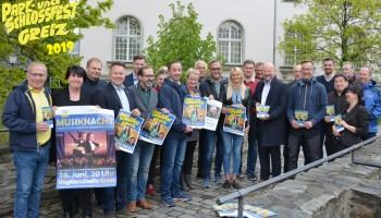 Park-und Schlossfest 2019: Sponsoren und Unterstützer treffen sich zum gemeinsamen