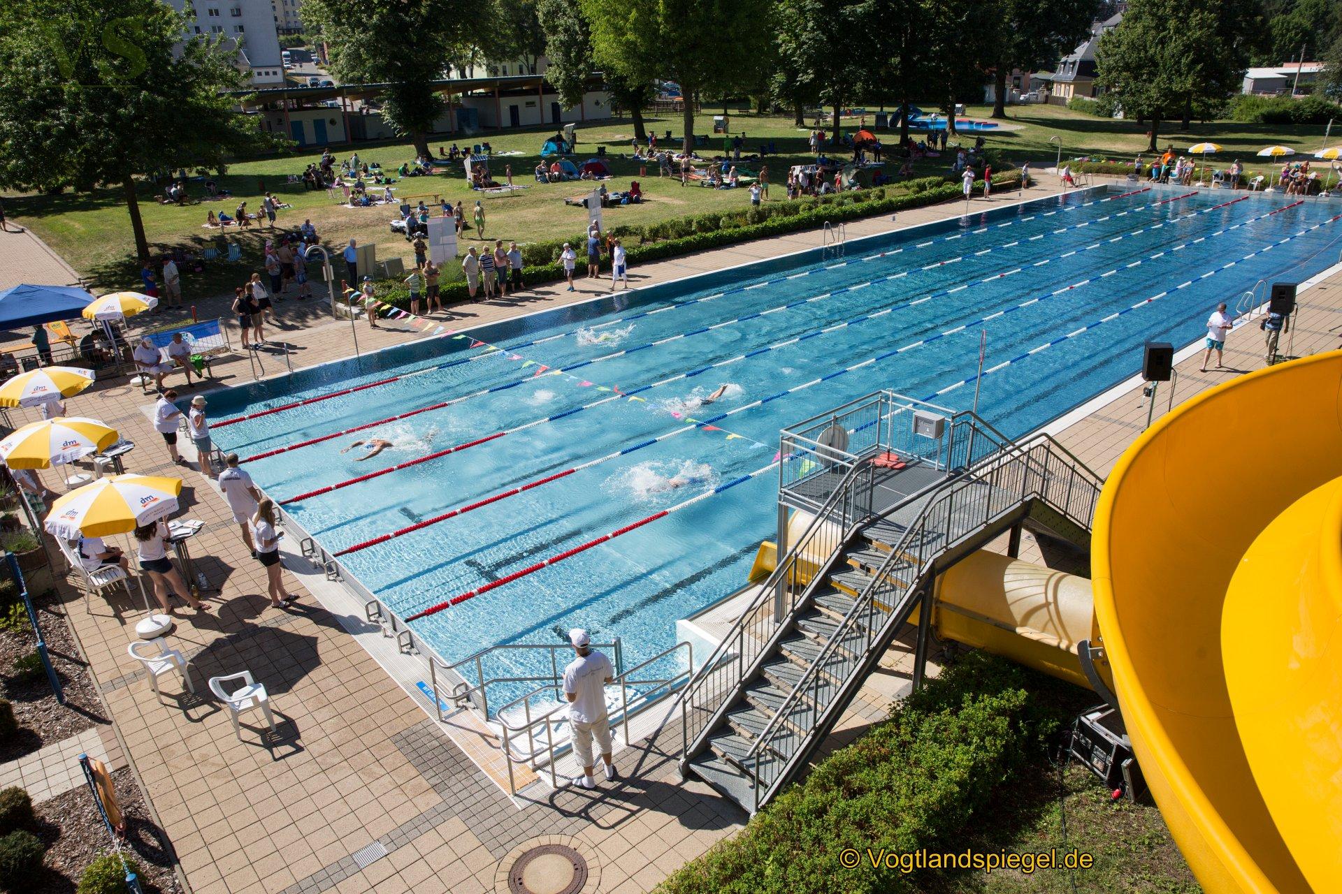 Mit einer großen Veranstaltung bei herrlichem Sommerwetter feierte das Greizer Sommerbad seinen 95.Geburtstag