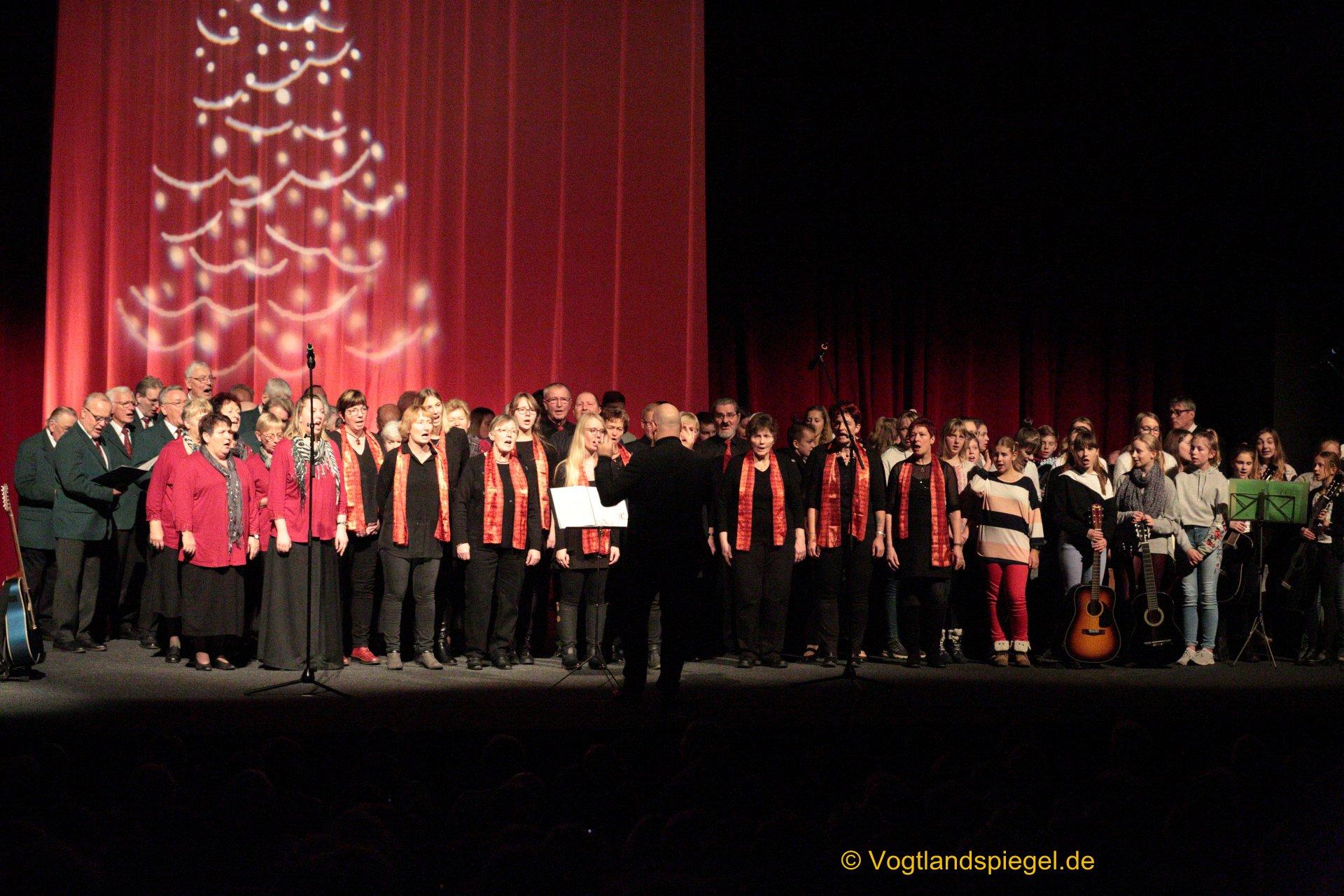 Zum vierzigsten Mal hieß es am Samstagnachmittag in der Vogtlandhalle Greiz: Sind die Lichter angezündet.