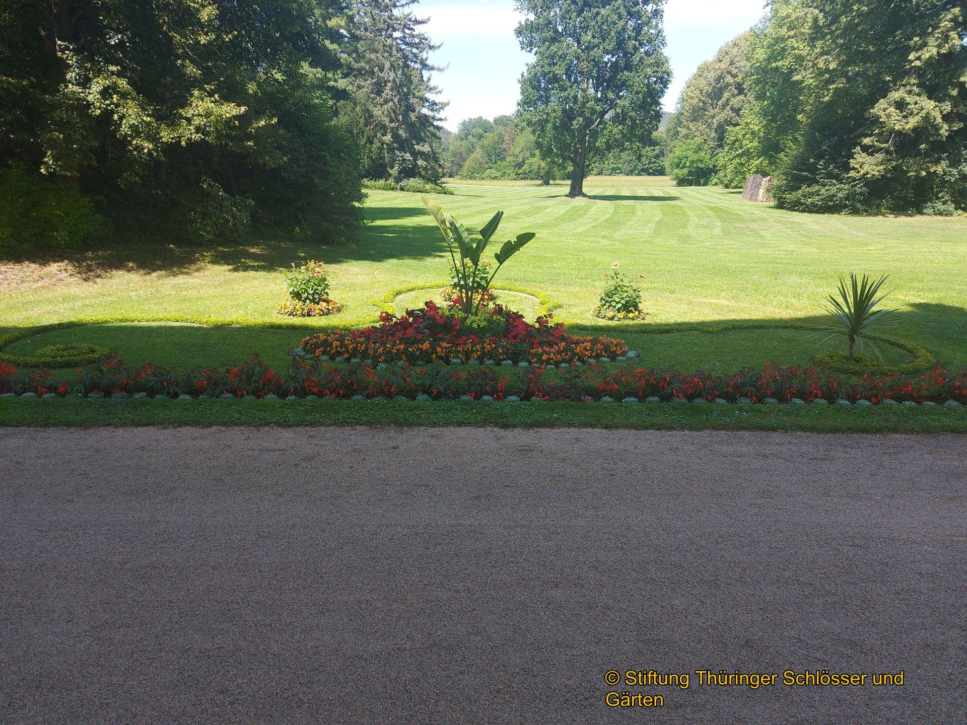Pflanzendiebstahl im Fürstlich Greizer Park