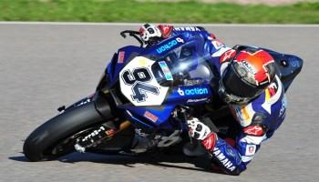 Jonas Folger feiert Doppelsieg in der Superbike-Klasse auf dem Sachsenring