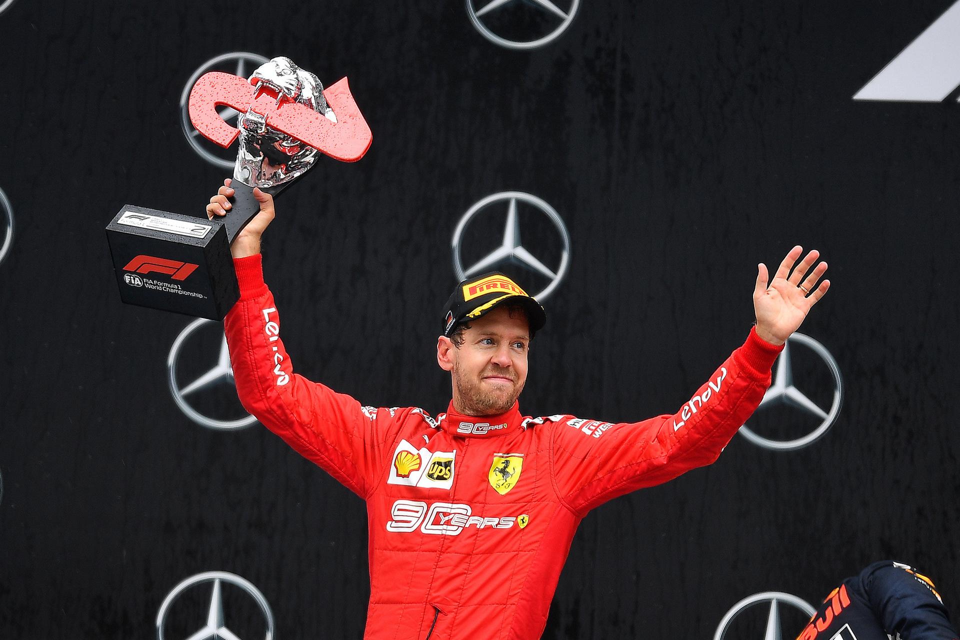 Der Heppenheimer Sebastian Vettel wechselt 2021 zum Aston Martin-Team