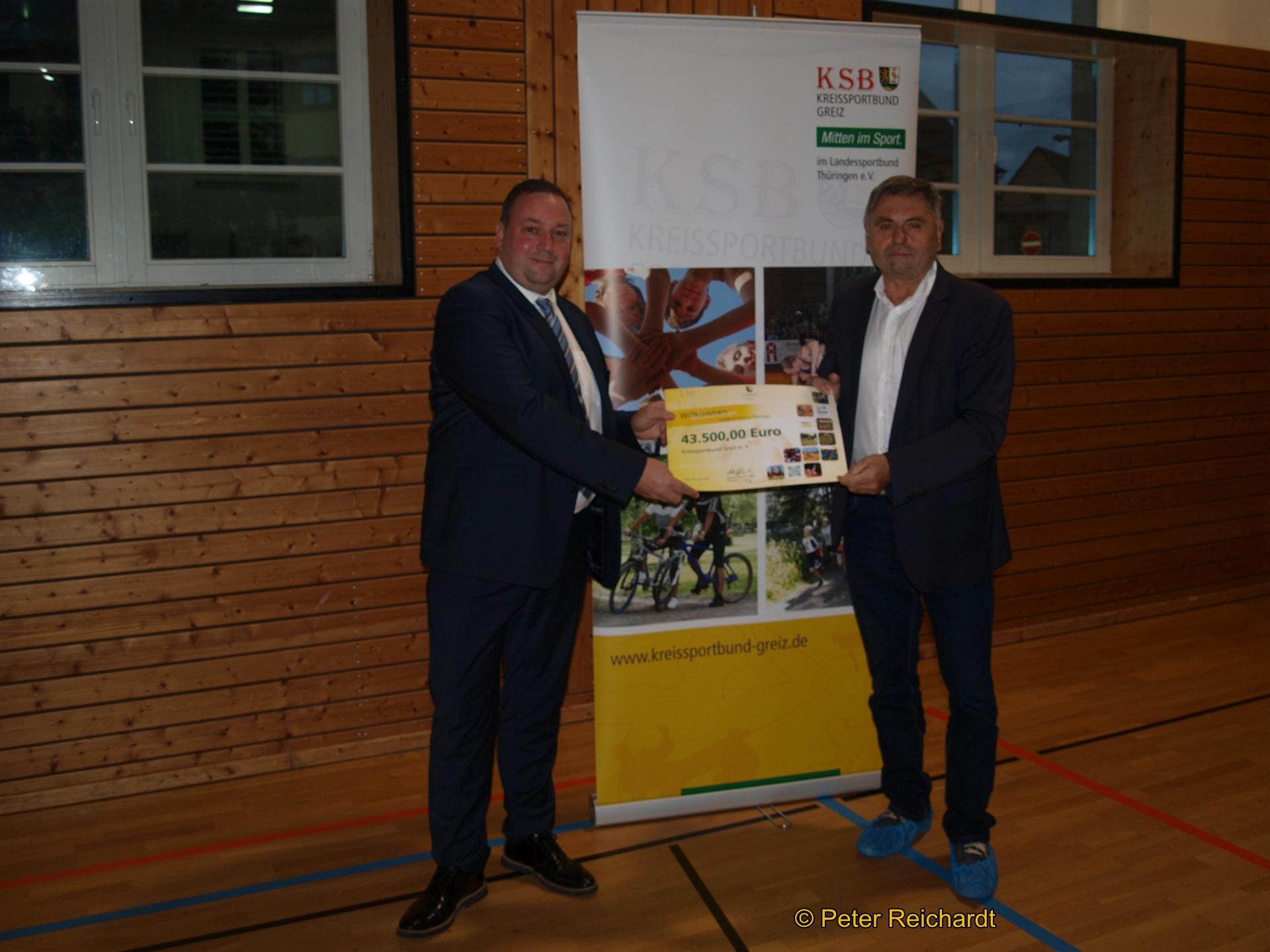 Bilanz und Ausblick beim Kreissportbund Greiz e.V.
