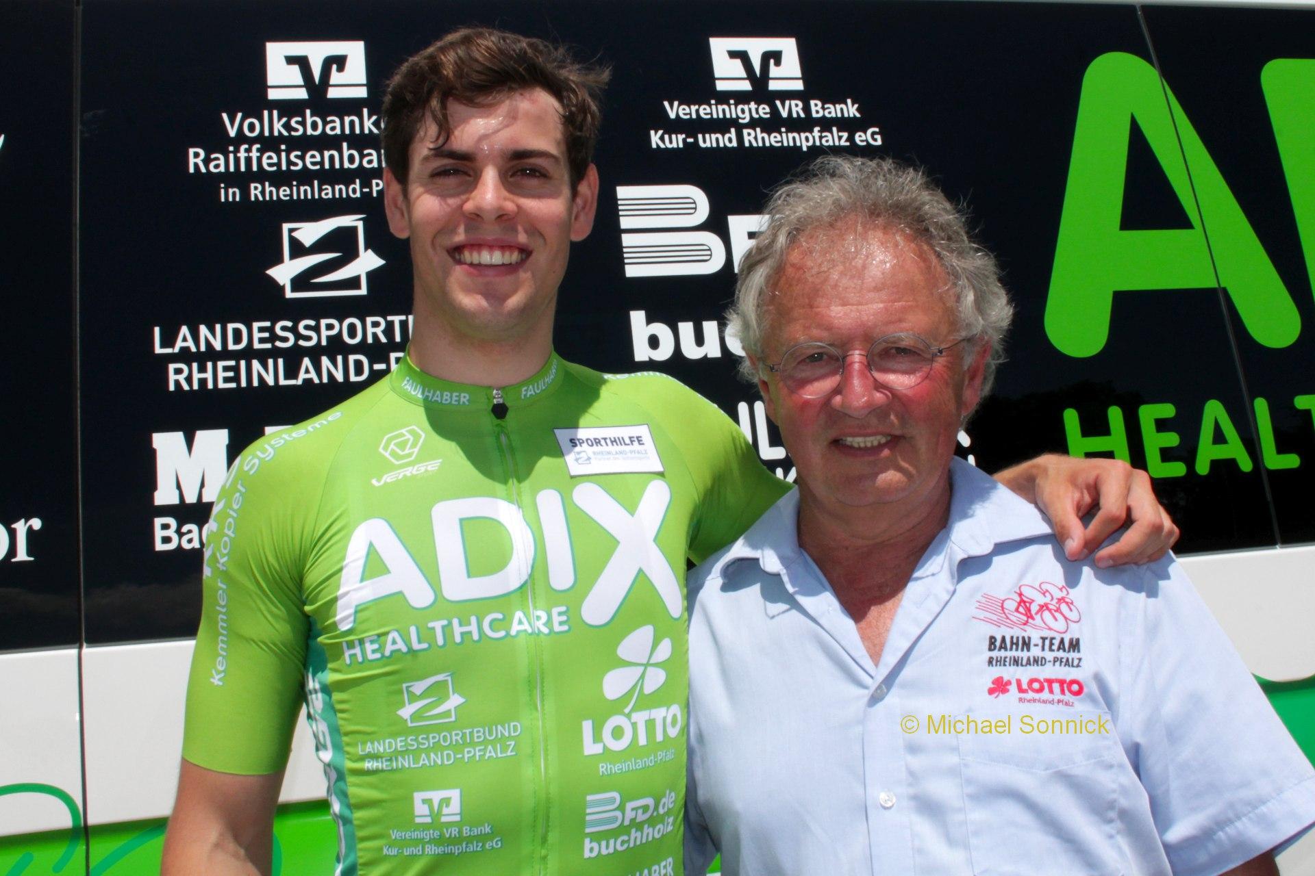 Bahnradfahrer Timo Bichler wurde für die Olympischen Spiele nominiert