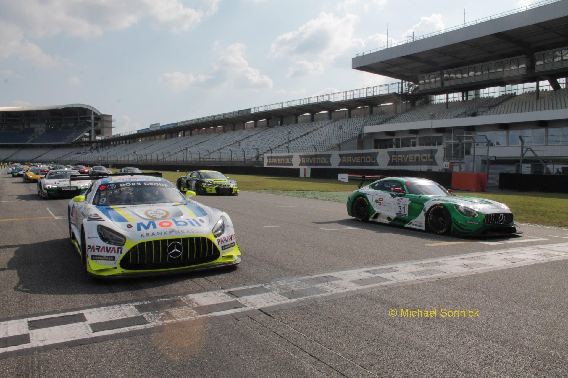 Mercedes-AMG feiert Doppelsieg auf dem Hockenheimring