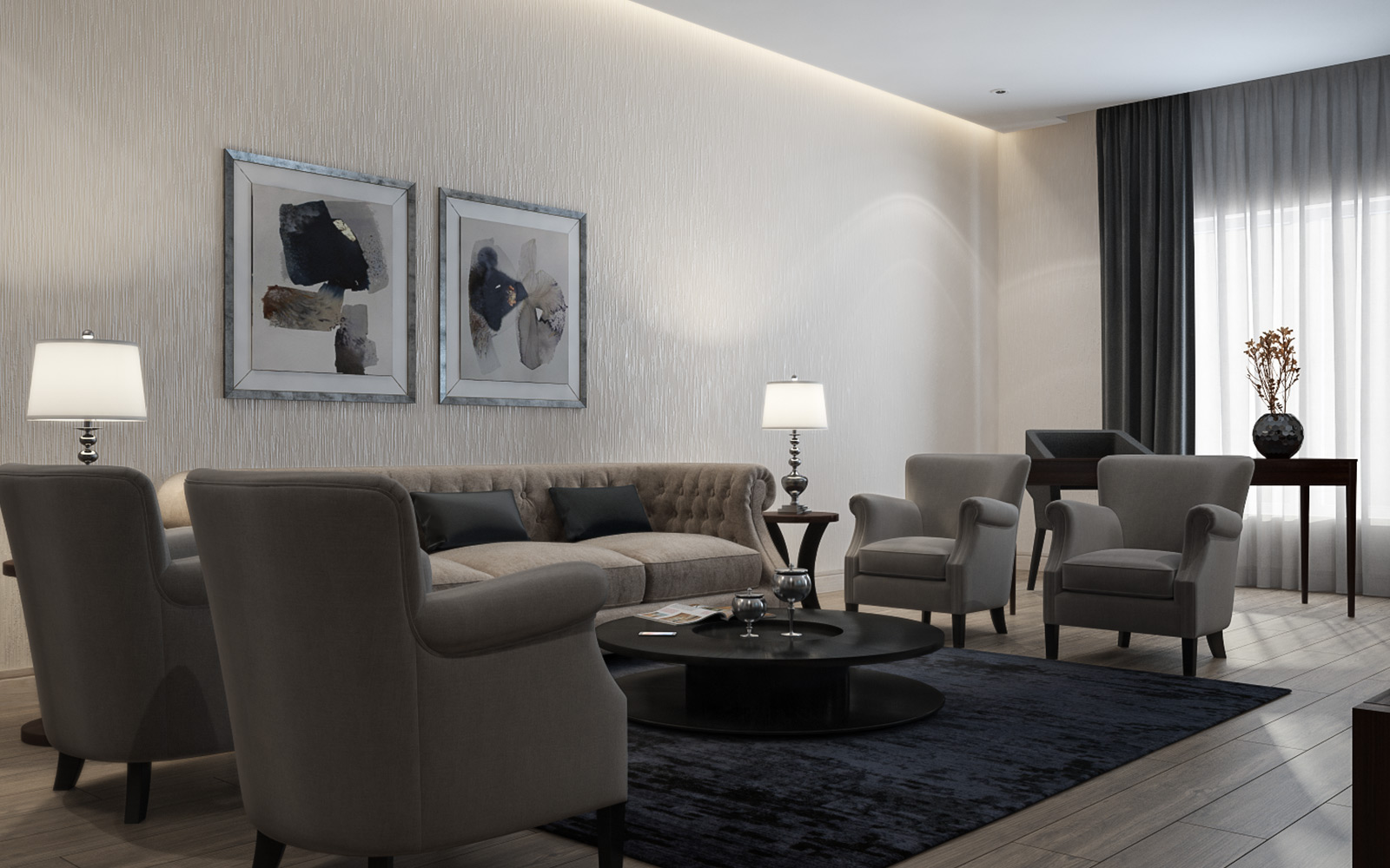 Vogue Design - Emirates Furnished Flats2