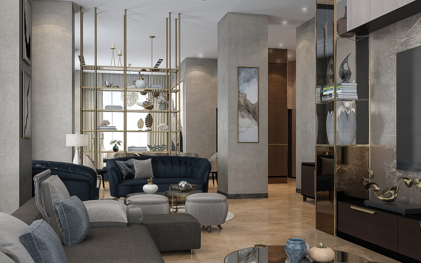 Vogue Design - Istanbul Basaksehir Flat4