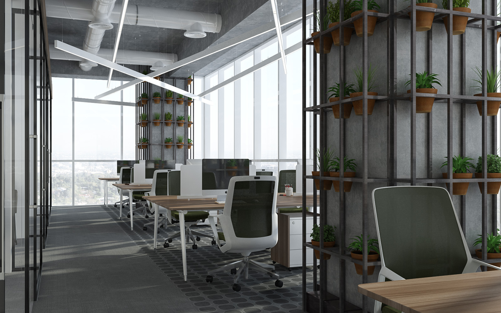 Vogue Design - Istanbul Eco Smart Office3