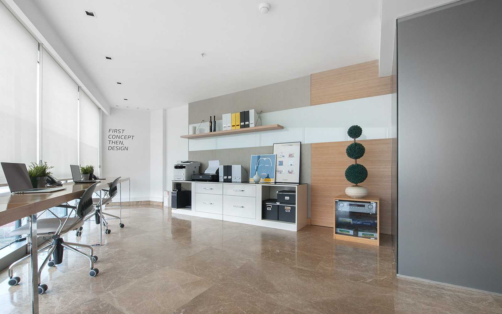 Vogue Design - Vogue Office at Skyport Residence2