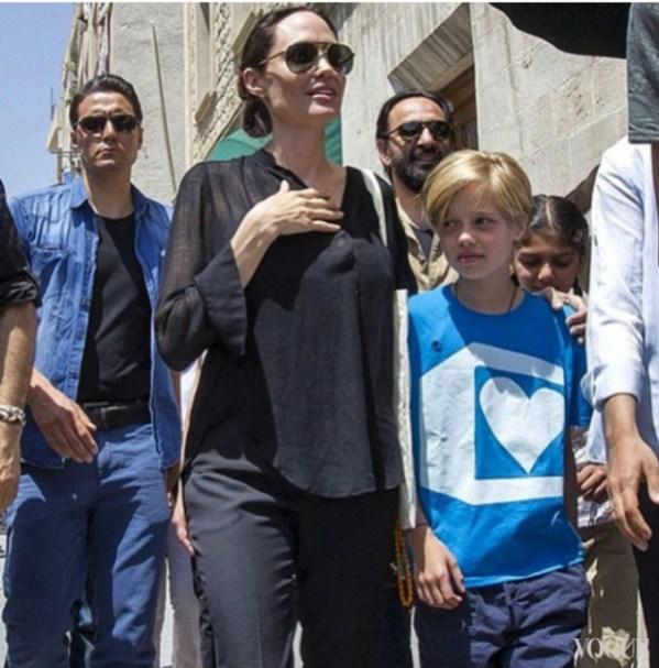 Что произошло с Анджелиной Джоли в 2016? | Vogue Ukraine ...