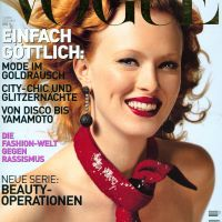 Karen Elson Throughout the Years in Vogue