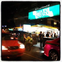 Obligatory visit to the colourful Patpong - Bangkok's entertainment district.