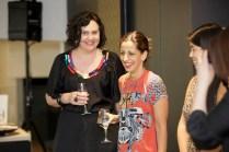 Left–right: Stephanie Moffitt, design director for Mokum, Silvana Azzi Heras, head designer at Bazmark, and Rachael Fung, assistant to Catherine Martin