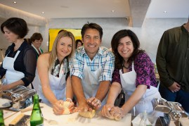 Anna Fanuli, Jamie Durie and Lucy Fanuli