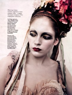 Paolo Roversi para Vogue Russia Março 2010
