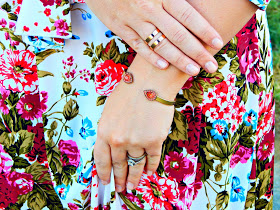 8-shop-pink-blush-floral-maxi-dress-vogue-tote-pink-kate-spade-bag-kensie-shoes-loren-hope-bangle-wanderlust-and-co-ring