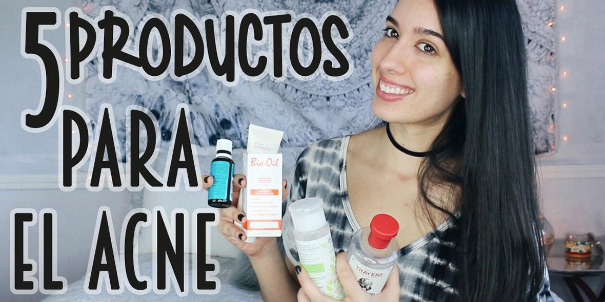 5 Productos para el Acné que Funcionan!