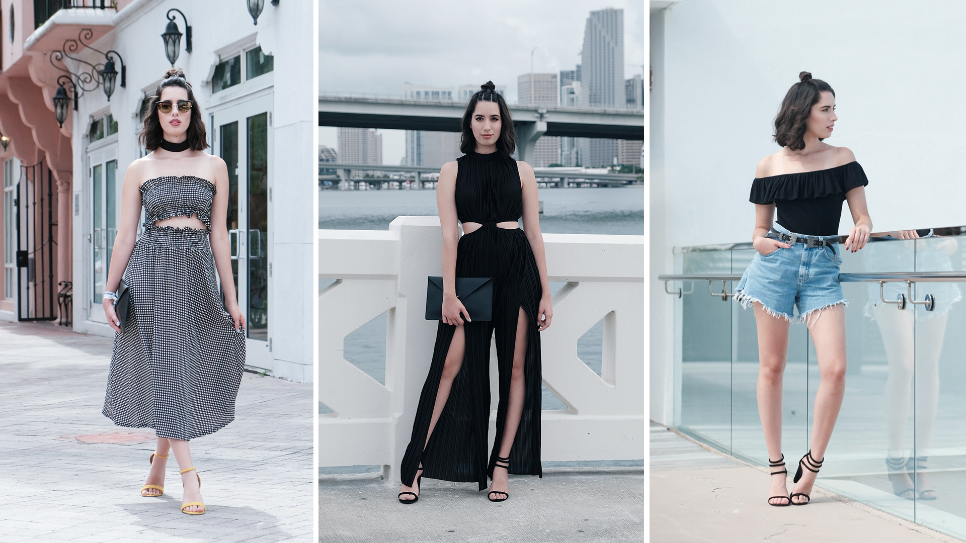 4 Black Summer Outfits