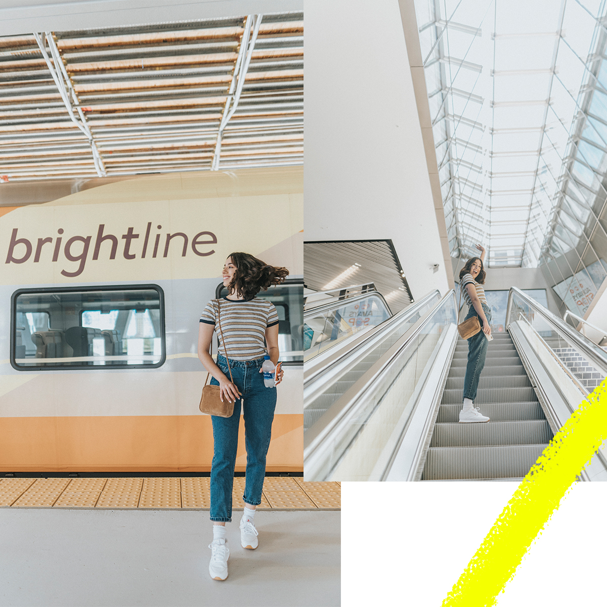My new favorite addition to Miami: Brightline!