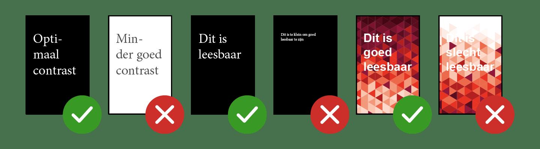 informatiezuilen-richtlijnen