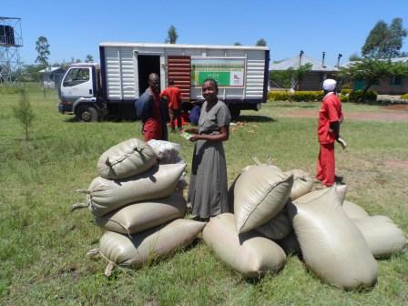 Kibos sugar industry donation