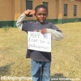 Bringing Hope - be a policeman 2