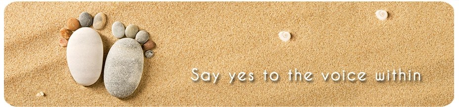 Say yes to the voice within
