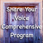Share Your Voice Comprehensive