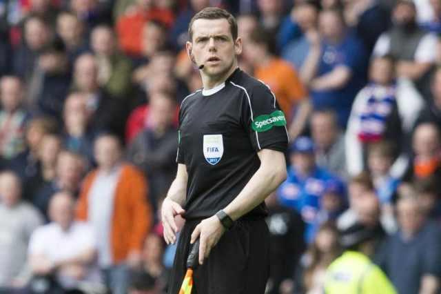 Douglas Ross is also a top-flight football referee. (BOOOO).