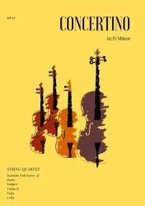 Concertino in D Minor for String Quartet