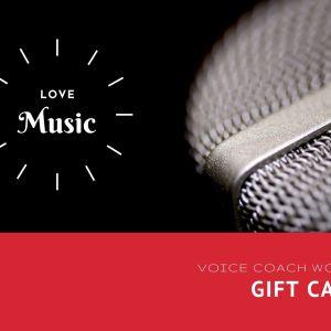 Voice Coach World Gift Card