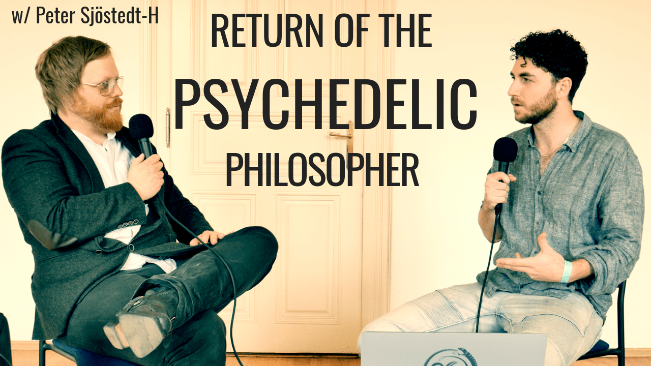 Peter Sjöstedt-H talks to Tim Adalin of Voiceclub about psychedelic philosophy