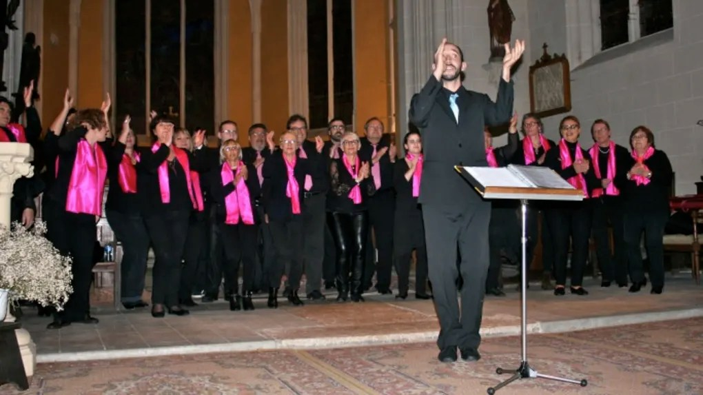 Le chœur Voice For Gospel, plein d'enthousiasme a offert un moment très festif.