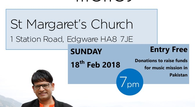Fund Raising Worship Evening Sunday 18th February