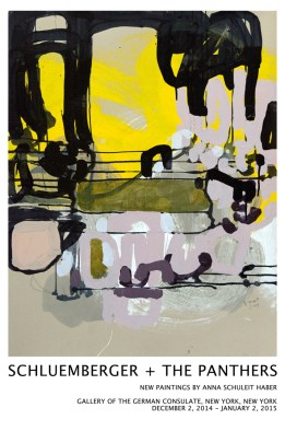 Solo show of paintings by Anna Schuleit Haber, 2014