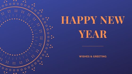 happy new year wishes image for 2020