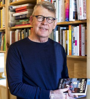 """Retiring chairman of Byron Writers Festival Chris Hanley, """"an absolutely passionate lover of literature"""". Photo: Natalie Grono"""