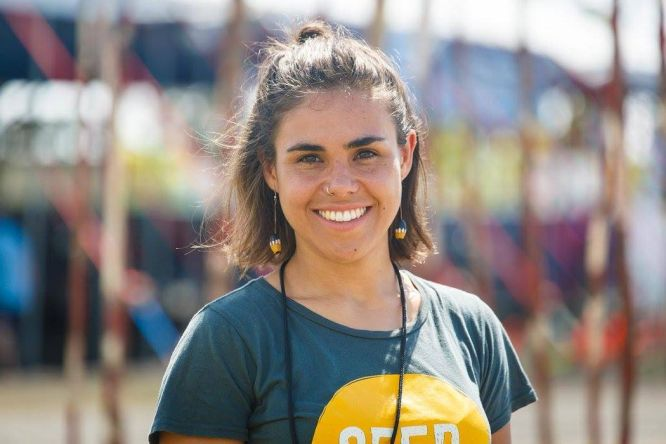 "Amelia ""Millie"" Telford, Bundjalung National Co-Director, nominated in this year's Cosmopolitan Australia Woman of the Year Awards"