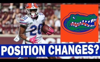 Florida DEEP at RB – Position Changes Coming for Some?