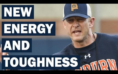 Bryan Harsin Brings New Energy and Toughness to Auburn – Early Impressions