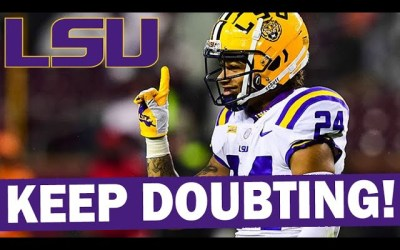 LSU Thrives in Underdog Role – Will We See a 2019 Repeat?