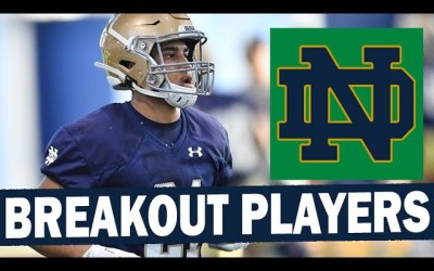 Notre Dame Breakout Players for 2021