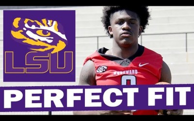 Damari Alston is a Perfect Fit for LSU at RB (4* in 2022 Class)