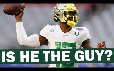 Is Anthony Brown the QB for Oregon?