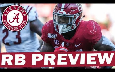 Alabama 2021 Running Back Preview