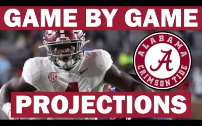 Alabama Win Probabilities for Each Game in 2021
