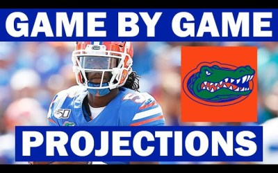 Florida Win Probabilities for Each Game in 2021