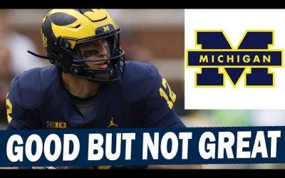 Cade McNamara Getting the Job Done – But Is He Holding Michigan Back From Full Potential?
