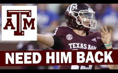 How Bad Does A&M Need Haynes King back?