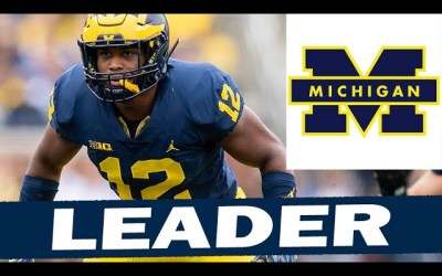 Josh Ross Has Emerged as a Leader for the Michigan Defense